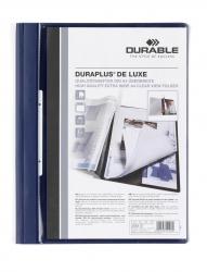 Angebotshefter DURAPLUS® DE LUXE, strapazierfähige Folie, A4, dunkelblau