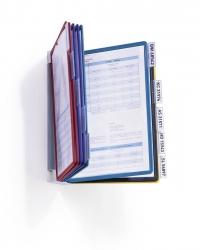 Sichttafelsystem VARIO® WALL 10, farbig sortiert