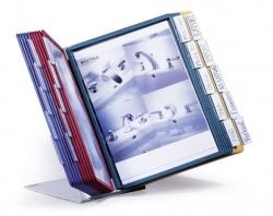 Sichttafelständer VARIO® TABLE 20 - Tischständer, 20 Sichttafeln A4, sortiert