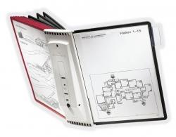 Sichttafelsystem SHERPA® WALL 10 - 10 Tafeln, grau