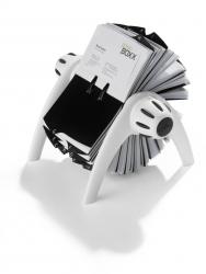 Visitenkartenkartei VISIFIX® FLIP VEGAS, weiß