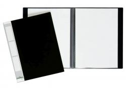 Sichtbuch DURALOOK® - A4, 20 Hüllen, 17 mm, schwarz