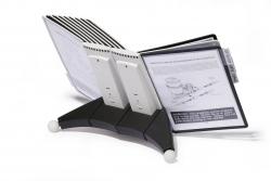 Sichttafelsystem SHERPA® TABLE - 20 Tafeln, anthrazit/grau