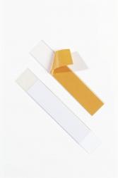 Schilderrahmen Schildfix, mit Blanko-Einsteckschild, 200 x 40 mm, 5 Stück
