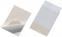 Selbstklebetasche POCKETFIX® - 105x74 mm, seitlich offen, transparent, 10 Stück