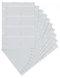 Telefoneinlage Erweiterungssatz für TELINDEX® - A5, für 80 Einträge, Karton, grau