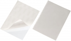 Selbstklebetasche POCKETFIX® - 210x297 mm, oben offen, transparent, 3 Stück