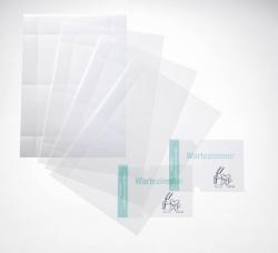 EDV-beschriftbare Folie CRYSTAL SIGN refill, 148x148 mm