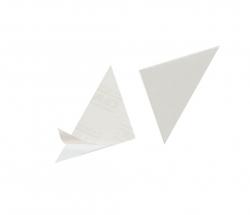 Dreiecktasche Cornerfix®, 75x75mm, sk., transparent, 100St.