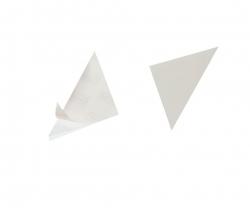 Dreiecktasche Cornerfix®, 125x125mm, sk., transparent, 100St.