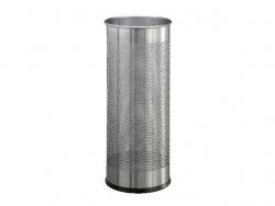 Schirmständer Edelstahl rund 28,5 Liter, metallic silber
