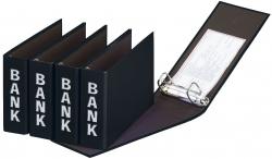 Bankordner Color-Einband - A5 , 50 mm, Color Einband, schwarz