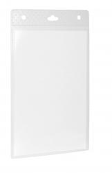 Namensschild A6 - Kunststoff, transparent, 105 x 148 mm, 20 Stück