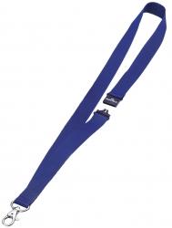 Textilband 20 mm mit Sicherheitsverschluss, 44 cm, dunkelblau