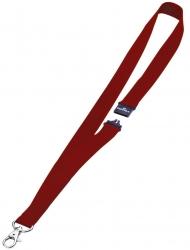 Textilband 20 mm mit Sicherheitsverschluss, 44 cm, rot