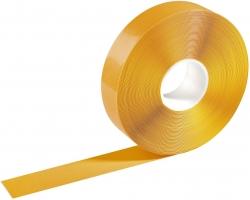 Warnmarkierungsband - 50mm x 30m, selbstklebend, gelb