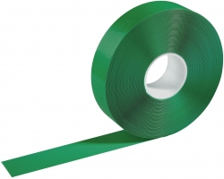 Warnmarkierungsband - 50mm x 30m, selbstklebend, grün