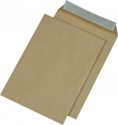 Versandtaschen Recycling - C4 , ohne Fenster, haftklebend, 110 g/qm, braun, 250 Stück