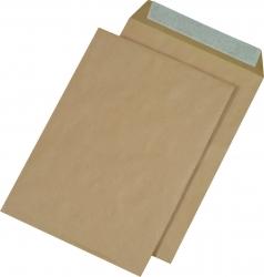 Versandtaschen Recycling - B4, ohne Fenster, haftklebend, 110 g/qm, braun, 250 Stück