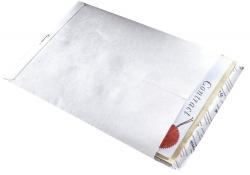 Versandtaschen aus Tyvek® C4, mit Fenster, 54 g/qm, weiß, 20 Stück