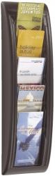 Wand-Prospekthalter Quick Blick - 1/3 A4, alu