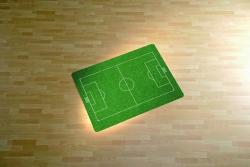 Motivmatte Form O Motiv Fußballfeld