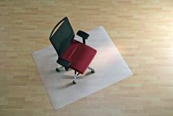 BSM Bodenschutzmatte milchig für glatte/harte Böden - Form 0, 120 x 150 cm