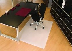 BSM Bodenschutzmatte milchig für glatte/harte Böden - Form 0, 120 x 200 cm