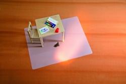 BSM Bodenschutzmatte milchig für Teppichböden -Form 0, 120 x 200 cm