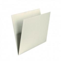 Einstellmappe mit Schreibrand chamois, Kraftkarton, 180 g/qm
