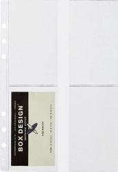 Visitenkartenhülle für Business-System A5, Pack mit 5 Stück