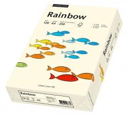 Rainbow Pastell - A4, 120 g/qm, hellchamois, 250 Blatt