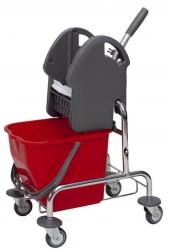 Einfahreimer - Nass Bodenpflege System, 1x15 Liter mit Presse