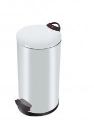 Tret-Abfallsammler T2.20 - 20 Liter, weiß