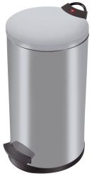 Tret-Abfallsammler T2.20 - 20 Liter, silber