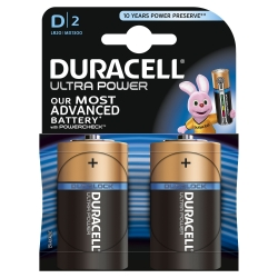 Batterien ULTRA POWER Alkaline - Mono/LR20/D, 1,5 V