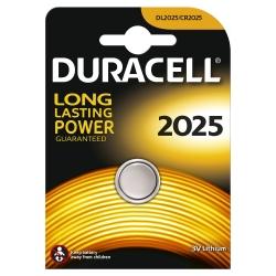 Knopfzelle Lithium - CR 2025, 3 V