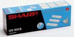 SHARP Thermotransfer-Rollen schwarz, 270 Seiten, UX-93CR