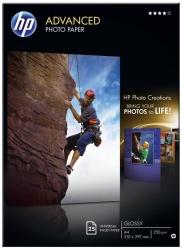 Advanced- Fotopapier - 10x15cm Fotoendformat, 250 g/qm, weiß, 60 Blatt