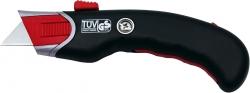 Cutter Safety Profi - schwarz/rot, inkl. 5 Ersatzklingen