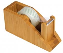 Tischabroller für Klebefilm - Bambus