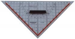 Technisches Zeichendreieck mit Griff, 250 mm