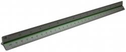 Präzisions-Dreikant-Maßstäbe 195, 30 cm, Teilung DIN