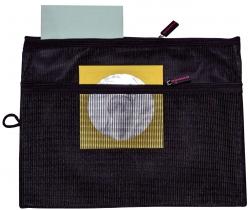 Sammeltasche für A4 - schwarz, gefüttertes Innenfach