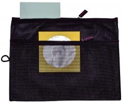 Sammeltasche für A5 - schwarz, gefüttertes Innenfach