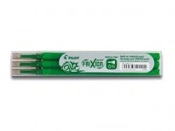 Tintenrollermine, Frixion 2264, BLS-FRP5-S3, 0,3 mm, grün, 3St im Etui