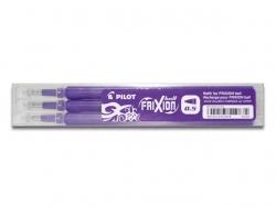 Tintenrollermine für FriXion Clicker - 0,3 mm, violett, 3er Set