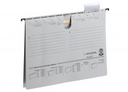 Hängehefter Serie E, A4 UniReg kfm. Heftung, weiß, Kraftkarton 230 g/qm