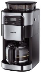 Kaffeeautomat mit Mahlwerk - schwarz
