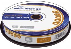 DVD+R - 4.7GB/120Min, 16-fach/Spindel, Packung mit 10 Stück